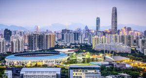 shenzhen china cityscape