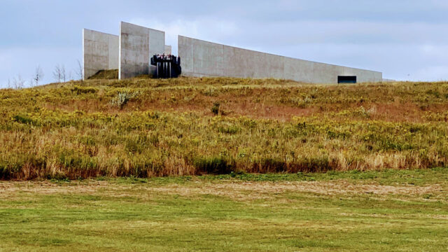 flight 93 national memorial visitors center complex